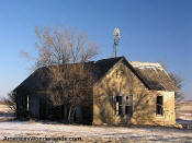 old house in western kansas