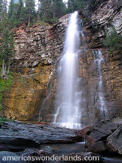 Virginia Falls - Glacier National park