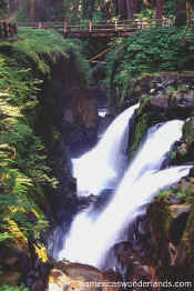 SOL DUC FALLS olympic national park washington