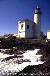 COQUILLE RIVER LIGHTHOUSE Oregon